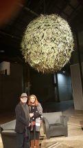 Hossein Valamensh and Nazanin Marashian at Carriageworks