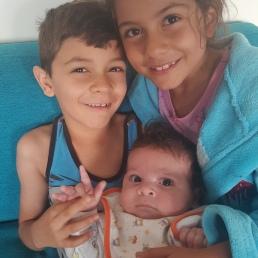 My amazing trio